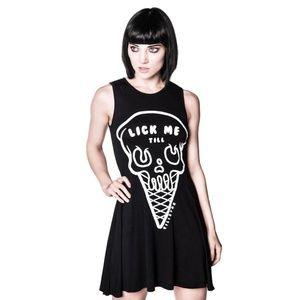 NWT Killstar Ice Cream Skater Dress